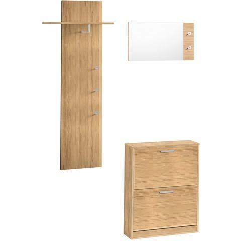 Complete garderobes Halmeubelen Torino in 3-delige set 764400