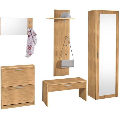 Complete garderobes Garderobeset Torino in 5-delige set 764490