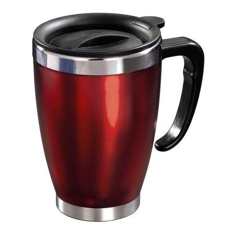 Xavax Thermo mug voor kantoor rood