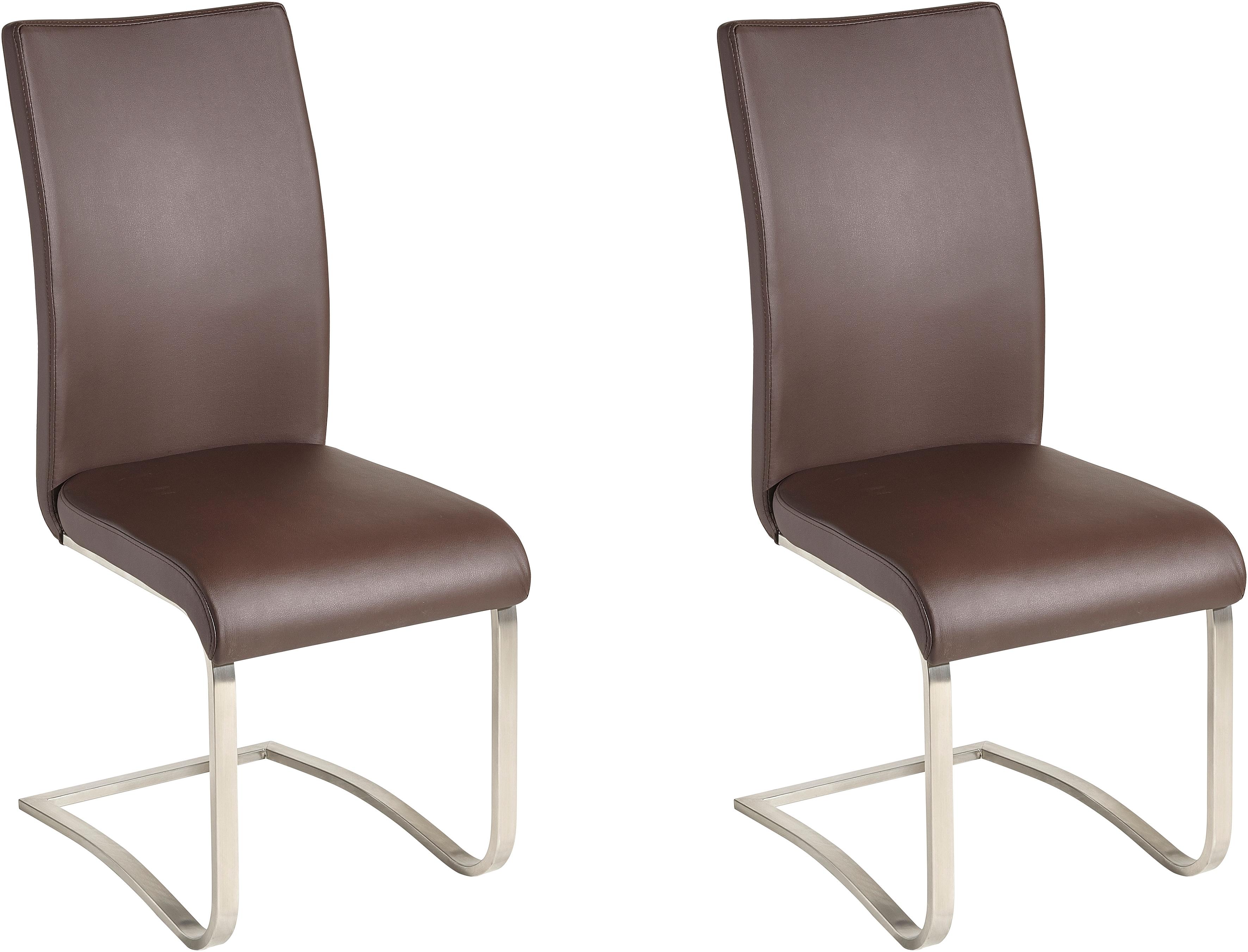 Mca Furniture Vrijdragende stoel in set van 2 bestellen: 30 dagen bedenktijd