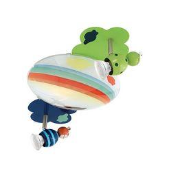 eglo, led-plafondlamp »taya«, multicolor