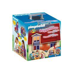 playmobil constructie-speelset nieuwe meeneempoppenhuis (5167), dollhouse gemaakt in europa multicolor