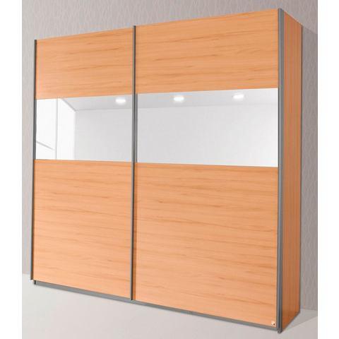 Kledingkasten RAUCH Zweefdeurkast met glas of spiegels 416838