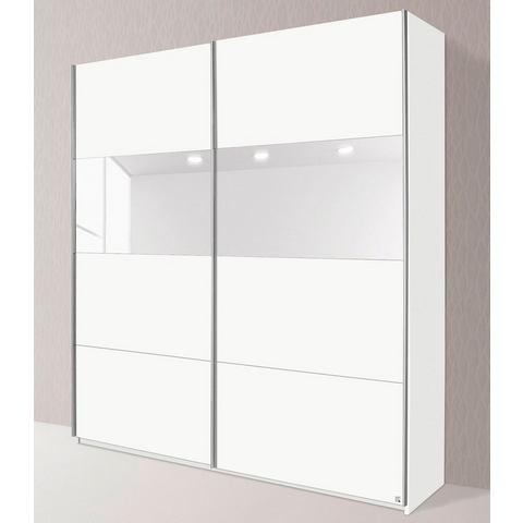Kledingkasten RAUCH Zweefdeurkast met glas of spiegels 242268