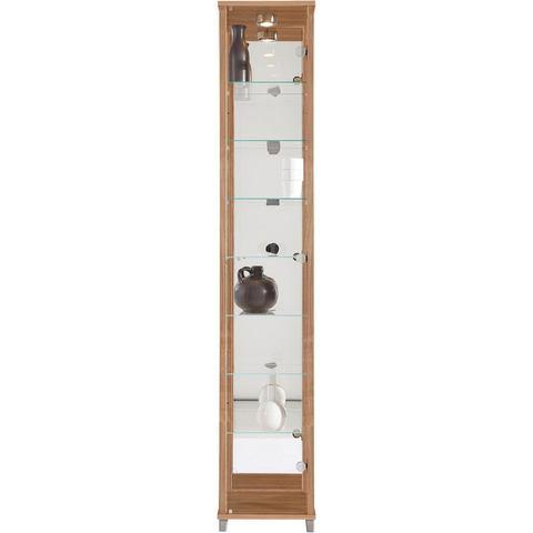 Kasten  vitrinekasten Vitrinekast met spiegelachterwand  7 glasplateaus 297900