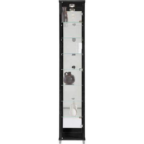 Kasten  vitrinekasten Vitrinekast met spiegelachterwand  7 glasplateaus 531717