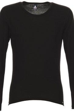 trigema ski- en sportshirt zwart