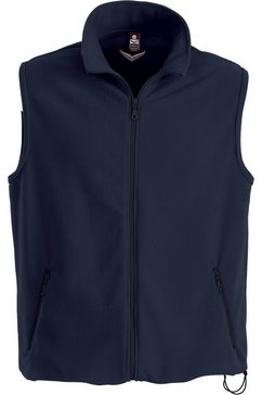 trigema vest blauw
