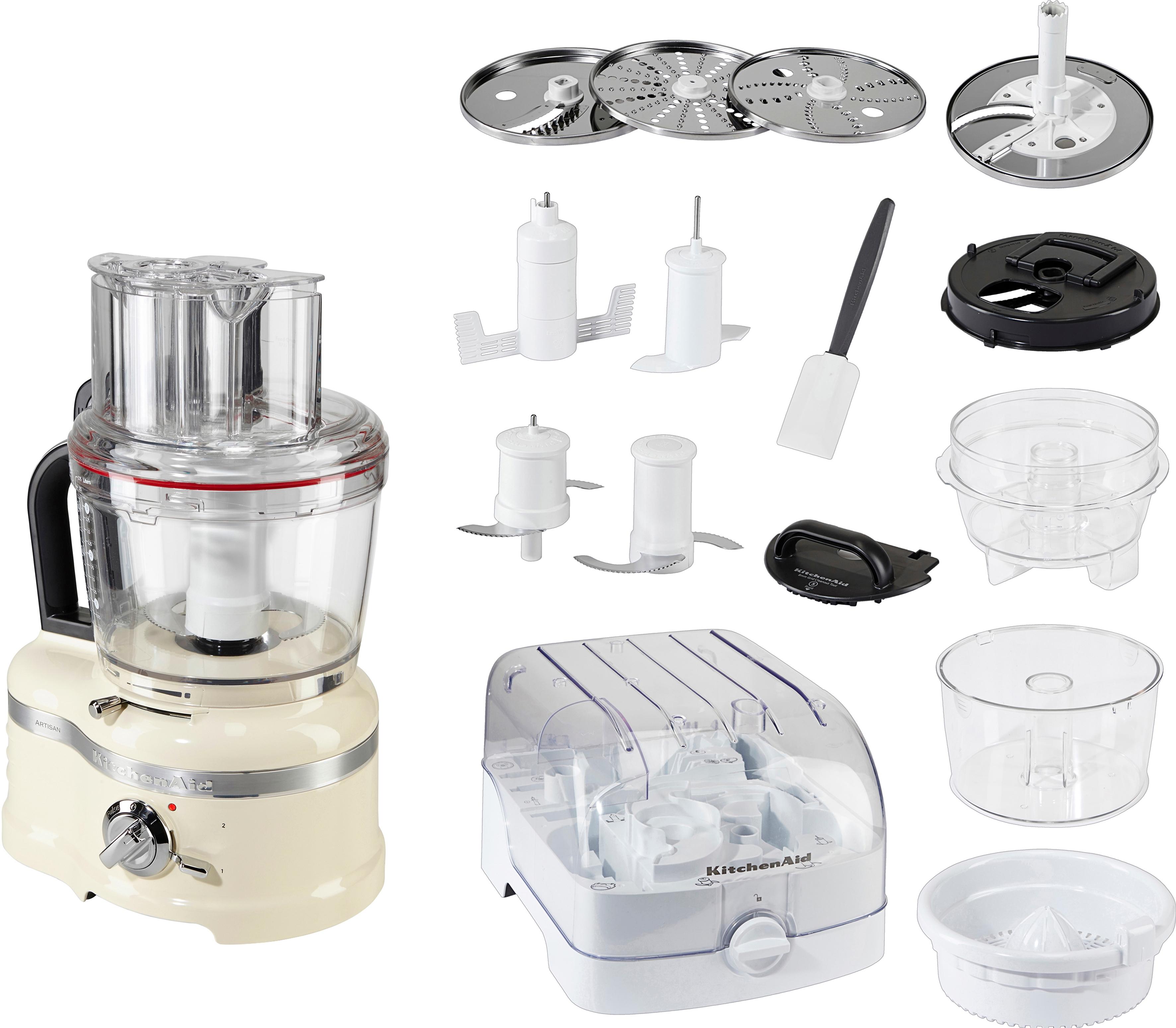 Op zoek naar een KitchenAid Keukenmachine Artisan Food Processor 5KFP1644ECA, 4,0 liter, appelrood? Koop online bij OTTO