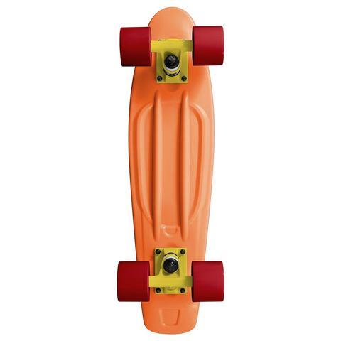 RAM Old School 22 inch Longboard Peach Orange