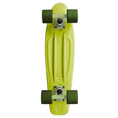 RAM Old School 22 inch Longboard Lime Green