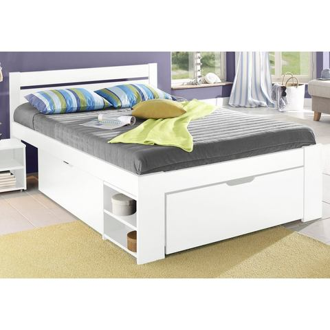 HOME AFFAIRE Bed met bergruimte Hansa wit Home Affaire 608478