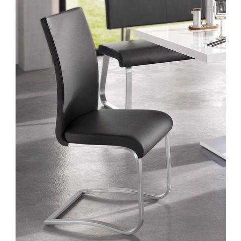 Eetkamerstoelen Vrijdragende stoel in set van 2 285093