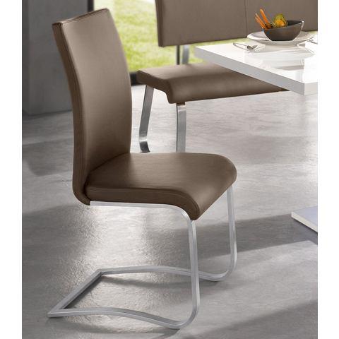Eetkamerstoelen Vrijdragende stoel in set van 2 255625