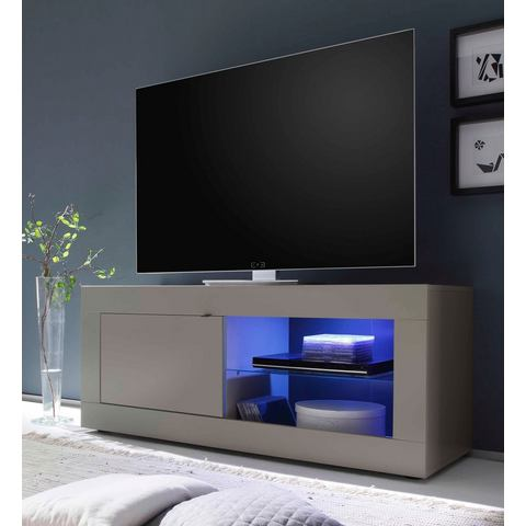 Lowboard breedte 140 cm zandkleur TV-kast 117