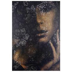 komar vliesbehang »lace«, 184x248 cm bruin