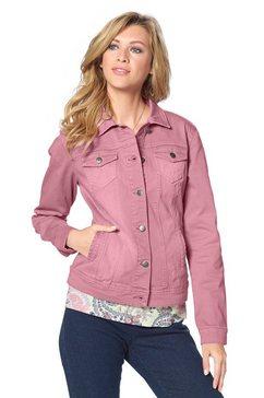 Jeans-jack met deelnaden