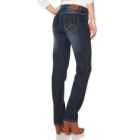 CHEER Jeans met geborduurde achterzakken