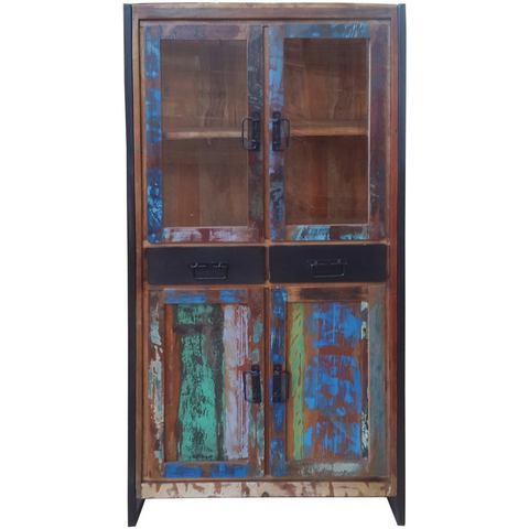 Kasten  vitrinekasten SIT Vitrinekast Bali 86 cm hoog 477898
