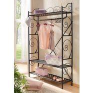 home affaire kapstok princess mooi metalen frame, met chique romantische versieringen, in 2 kleurvarianten zwart