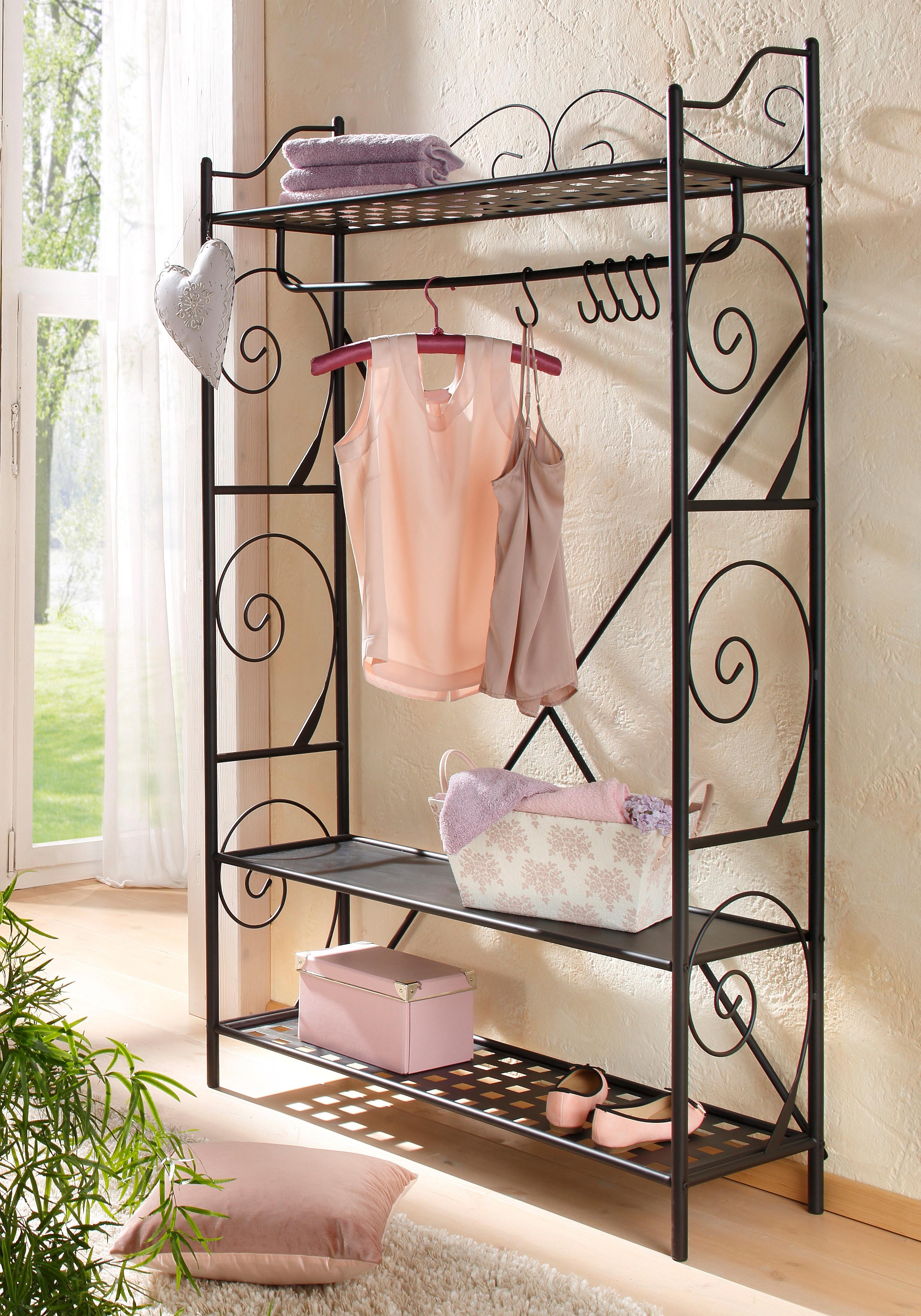 Home affaire Kapstok Princess mooi metalen frame, met chique romantische versieringen, in 2 kleurvarianten bij OTTO online kopen