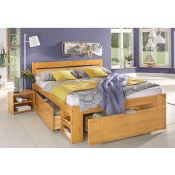 home affaire bed met bergruimte hannes geel