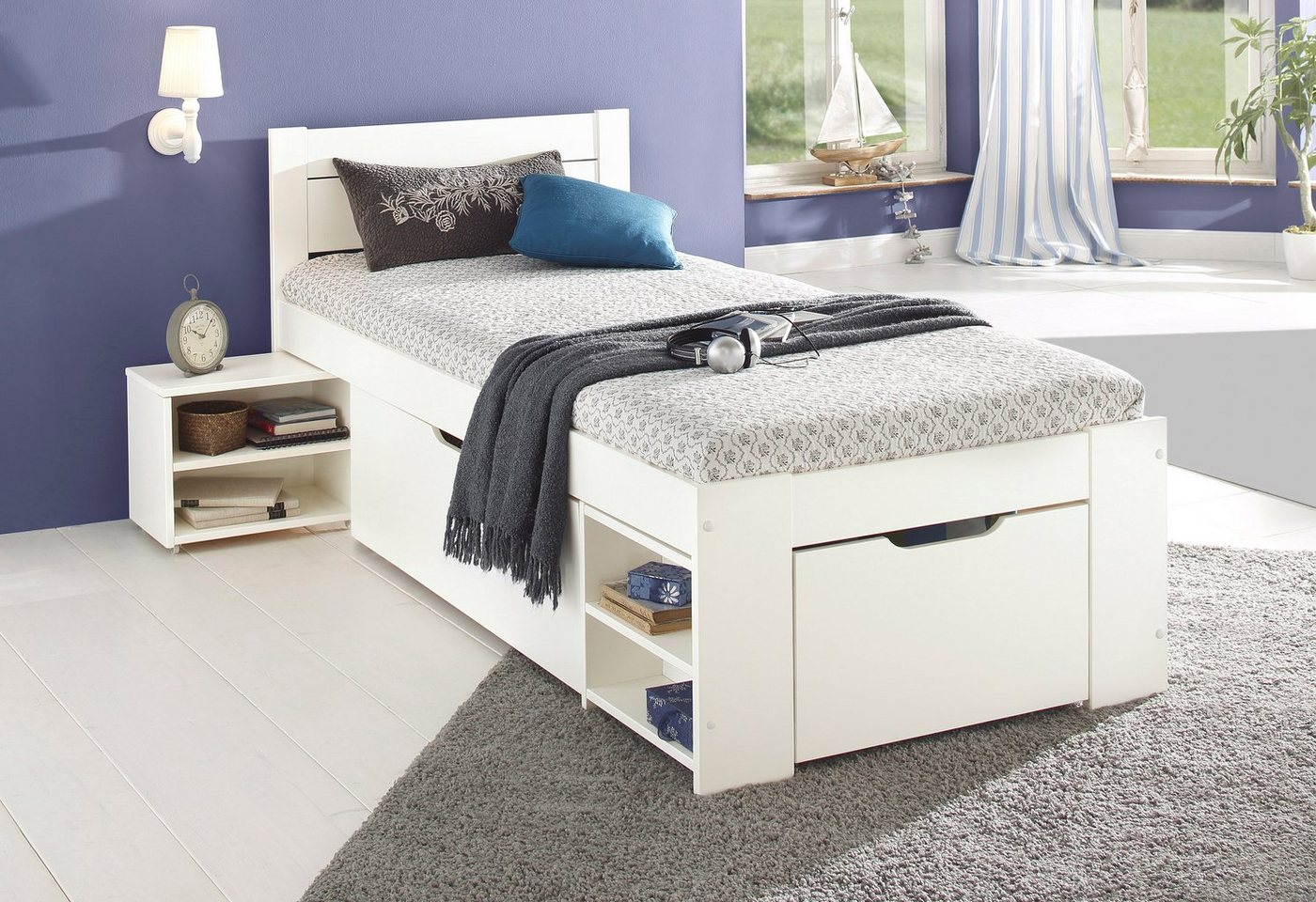 HOME AFFAIRE Bed met bergruimte Hansa
