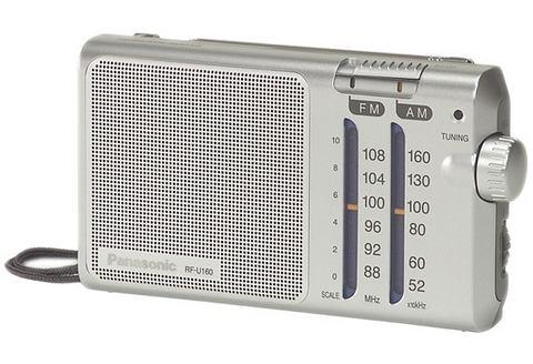 PANASONIC Draagbare radio RF-U160EG9-S