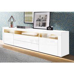 borchardt moebel tv-meubel wit