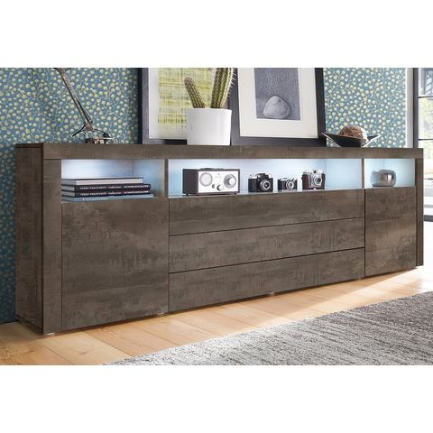 Dressoirs Sideboard 200 cm breed met 3 laden 639410