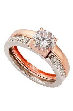 firetti ring 'verliefd' met zirkoon goud