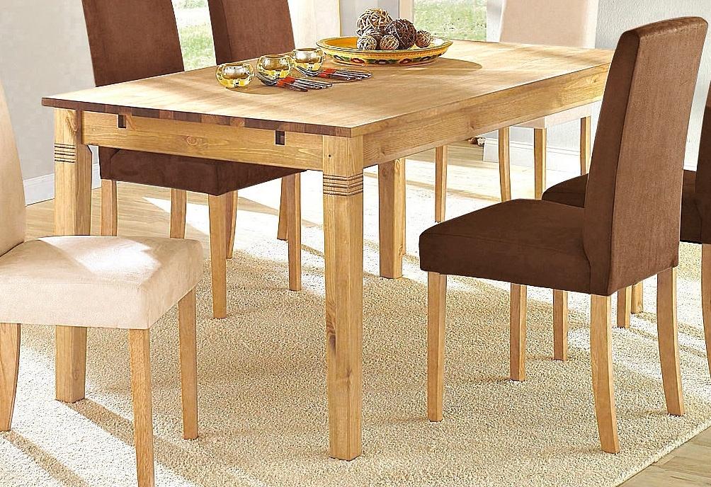 Home Affaire Massief houten eettafel - verschillende betaalmethodes