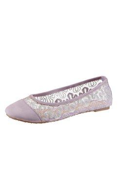 Ballerina's met trendy kant