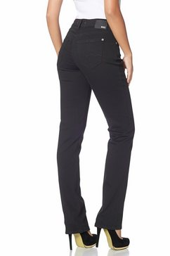 mac stretch jeans melanie recht model zwart