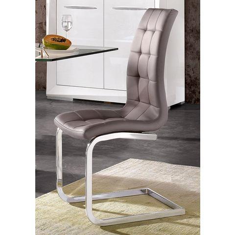 Eetkamerstoelen Vrijdragende stoel in set van 2 of 4 780132