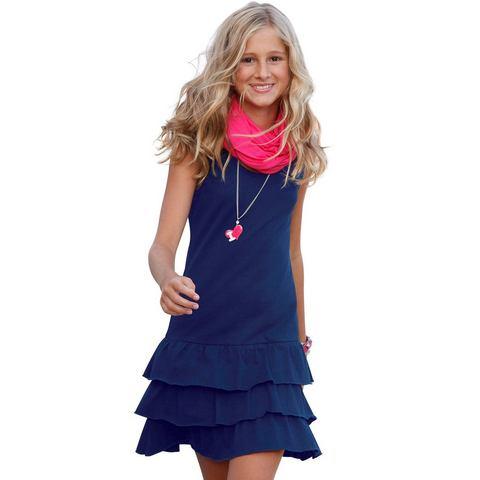 CFL Meisjes-jurk met volants
