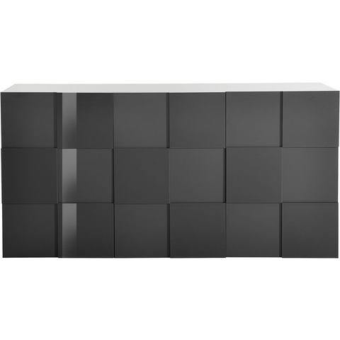 Dressoirs INOSIGN sideboard in 3D-look breedte 181 cm 356416
