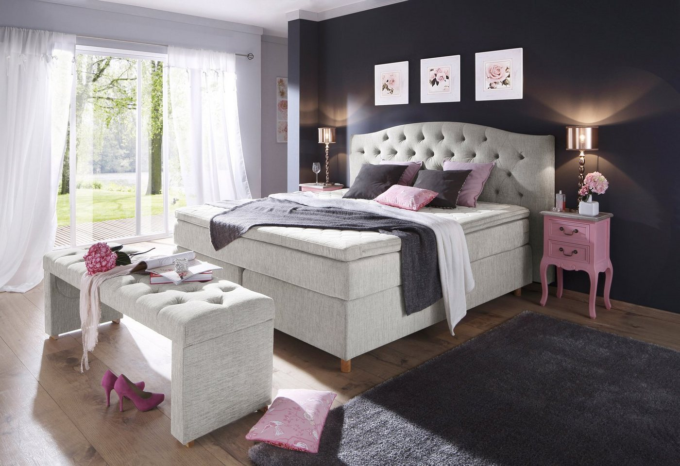 HOME AFFAIRE Boxspring Claire