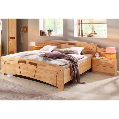 Bed honingkleur beige Home Affaire 690366