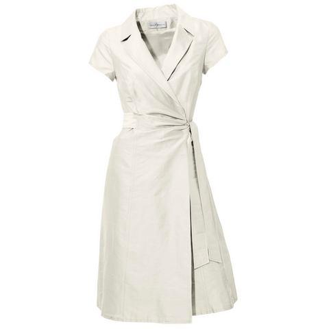 Picture Zijden jurk wit 150477