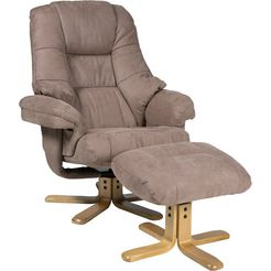duo collection relaxfauteuil »bordeaux« bruin
