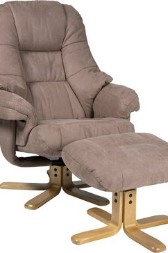 duo collection relaxfauteuil bruin