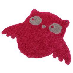 tom tailor vloerkleed voor de kinderkamer soft uil super zacht en luchtig roze