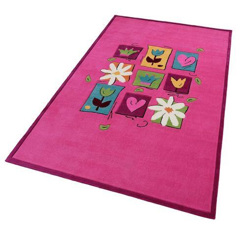 THEKO Kinder-karpet Wonderland in contourvorm