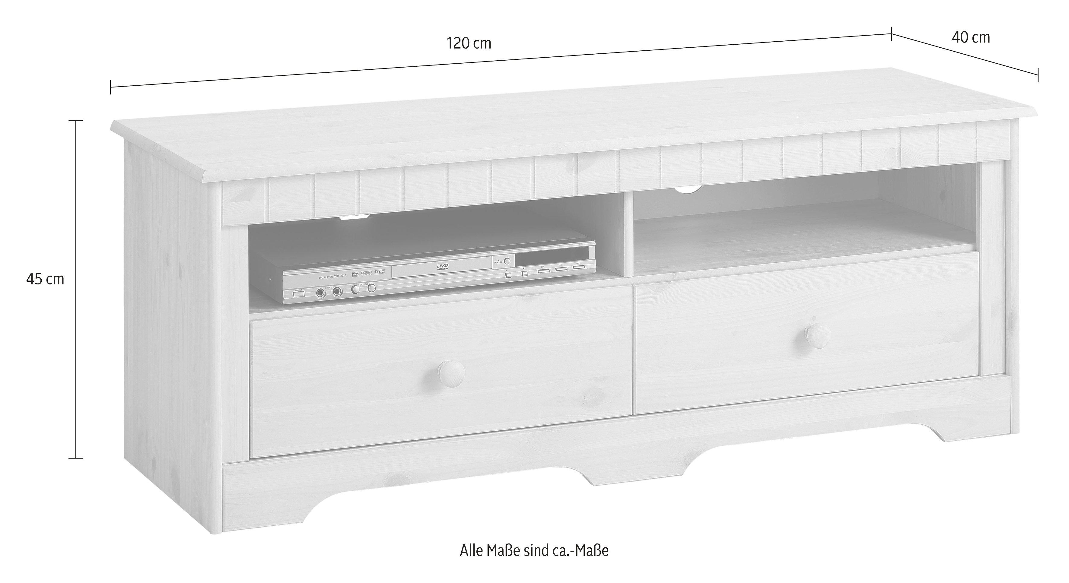 home affaire lowboard p hl 120 cm breed nu online kopen otto. Black Bedroom Furniture Sets. Home Design Ideas