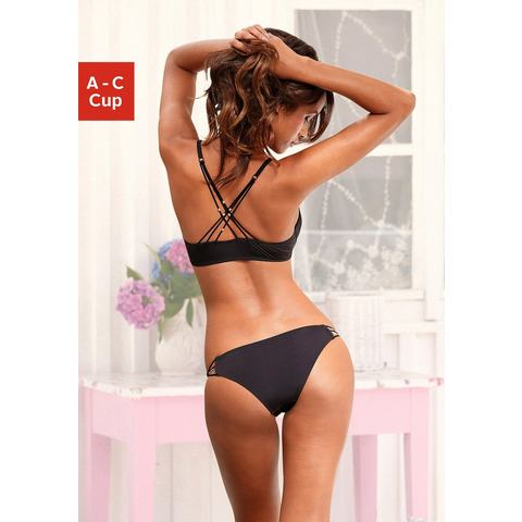 VIVANCE Set van push-up-BH + string