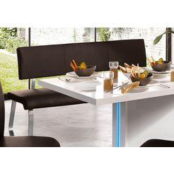 mca furniture bank arco belastbaar tot 280 kg, echt leer, in verschillende breedten bruin