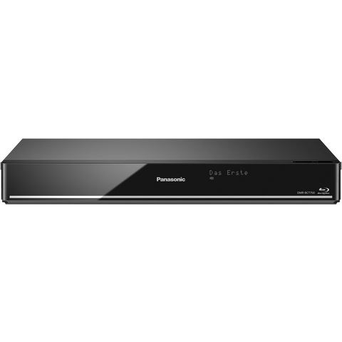 3D-blu-ray-recorder Panasonic DMR-BCT750EG 500 GB Twin-HD DVB-C tuner, WiFi, Smart-TV Zwart