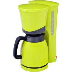 efbe-schott koffiezetapparaat sc ka 520.1, met thermoskan, lemon groen