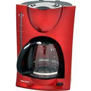 efbe-schott koffiezetapparaat sc ka 1050 r, met glazen kan, metallic-rood rood